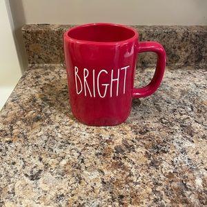 Rae Dunn Red Bright Christmas Mug